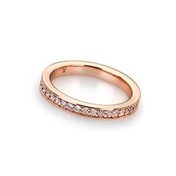 Obrázek è. 10 k produktu: Støíbrný prsten Hot Diamonds Emozioni Infinito Rose Gold