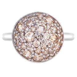 Obrázek č. 1 k produktu: Stříbrný prsten Hot Diamonds Emozioni Bouquet Champagne
