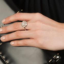 Obrázek è. 12 k produktu: Støíbrný prsten Hot Diamonds Emozioni Bouquet Champagne