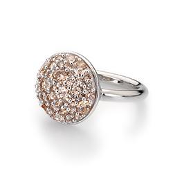 Obrázek è. 10 k produktu: Støíbrný prsten Hot Diamonds Emozioni Bouquet Champagne