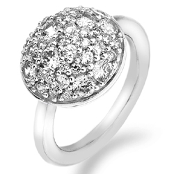 Støíbrný prsten Hot Diamonds Emozioni Bouquet