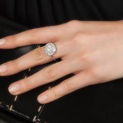 Obrázek è. 14 k produktu: Støíbrný prsten Hot Diamonds Emozioni Bouquet