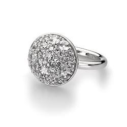 Obrázek è. 2 k produktu: Støíbrný prsten Hot Diamonds Emozioni Bouquet