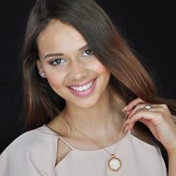 Obrázek è. 4 k produktu: Støíbrné náušnice Hot Diamonds Emozioni Giove Pearl Rose Gold