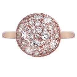 Obrázek è. 2 k produktu: Støíbrný prsten Hot Diamonds Emozioni Bouquet Rose Gold
