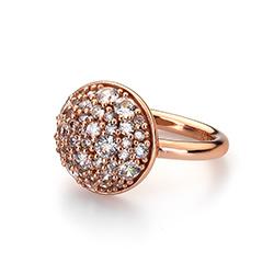 Obrázek è. 12 k produktu: Støíbrný prsten Hot Diamonds Emozioni Bouquet Rose Gold