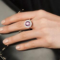 Obrázek è. 12 k produktu: Støíbrný prsten Hot Diamonds Emozioni Laghetto Pink