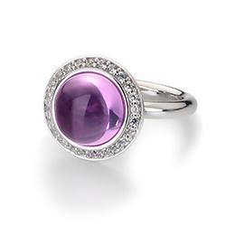 Obrázek è. 14 k produktu: Støíbrný prsten Hot Diamonds Emozioni Laghetto Pink