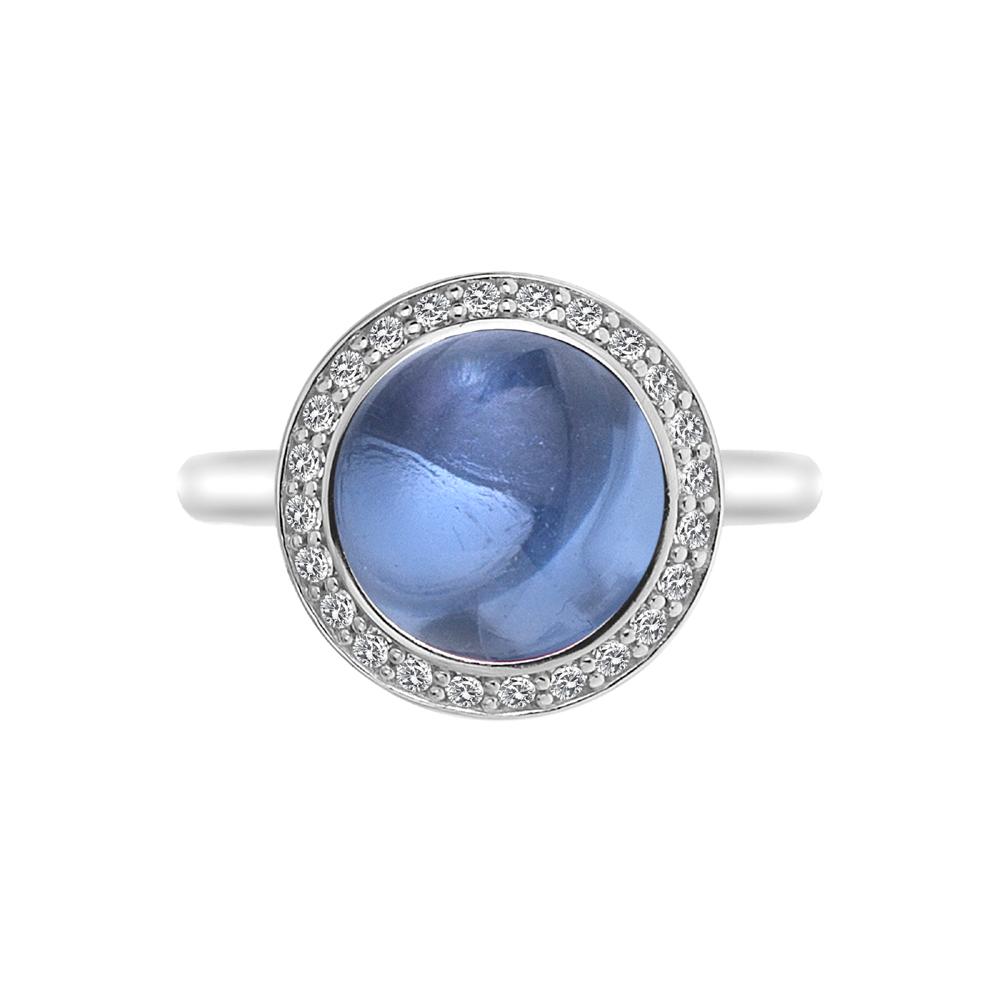 Obrázek è. 12 k produktu: Støíbrný prsten Hot Diamonds Emozioni Laghetto Azure