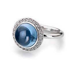 Obrázek è. 14 k produktu: Støíbrný prsten Hot Diamonds Emozioni Laghetto Azure