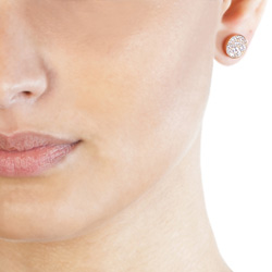 Obrázek è. 4 k produktu: Støíbrné náušnice Hot Diamonds Emozioni Scintilla Rose Gold