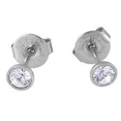Náušnice s krystaly Swarovski ESSW10-CZ