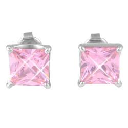 Náušnice s krystaly Swarovski ESSW17-ROSE