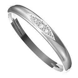 Zásnubní prsten s briliantem Leonka  004