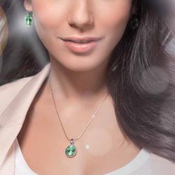 Obrázek č. 2 k produktu: Náušnice s krystaly Swarovski Oliver Weber Fun Crystal