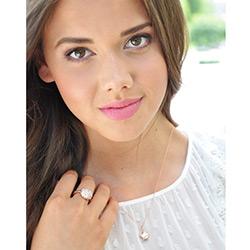 Obrázek è. 16 k produktu: Støíbrný prsten Hot Diamonds Emozioni Bouquet Rose Gold
