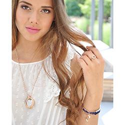 Obrázek è. 14 k produktu: Støíbrný prsten Hot Diamonds Emozioni Saturno Rose Gold