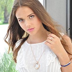 Obrázek è. 16 k produktu: Støíbrný prsten Hot Diamonds Emozioni Saturno Rose Gold