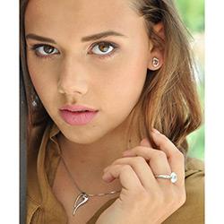 Obrázek è. 8 k produktu: Støíbrné náušnice Hot Diamonds Infinity Heart