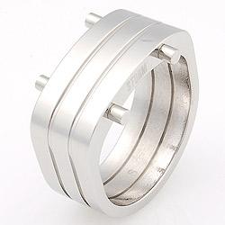 Prsten Storm Gist XL Silver