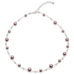 Náhrdelník s perlami Sunny Pearl Mauve