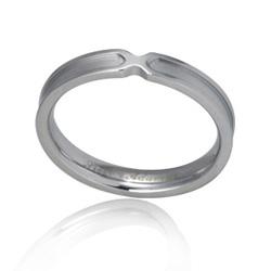 Ocelový prsten s briliantem GRSD29-BRIL
