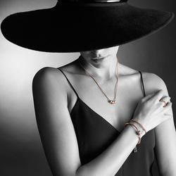 Obrázek è. 10 k produktu: Støíbrný náramek Hot Diamonds Parade Rose Gold