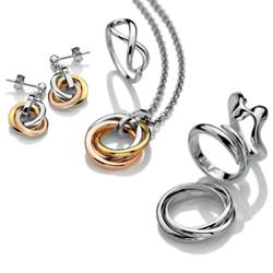 Obrázek è. 2 k produktu: Støíbrné náušnice Hot Diamonds Trio