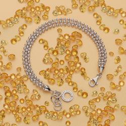 Obrázek è. 8 k produktu: Støíbrný náramek Hot Diamonds Garland Bead