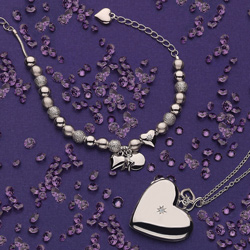 Obrázek è. 10 k produktu: Náhrdelník Hot Diamonds Just Add Love DP132