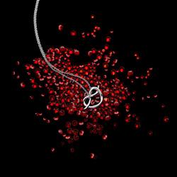 Obrázek è. 6 k produktu: Støíbrný pøívìsek Hot Diamonds Infinity Heart