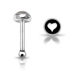 Stříbrný piercing do nosu N01109