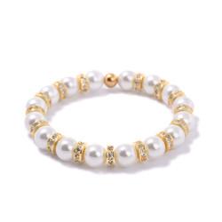 Dámský korálkový náramek Lavaliere Gold 0990