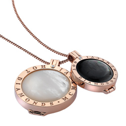 Obrázek è. 2 k produktu: Pøívìsek Hot Diamonds Emozioni Black Mother of Pearl Coin