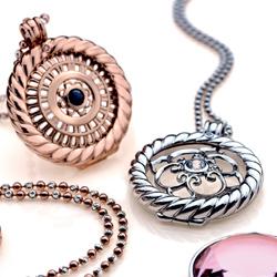Obrázek è. 4 k produktu: Pøívìsek Hot Diamonds Emozioni Rose Coin