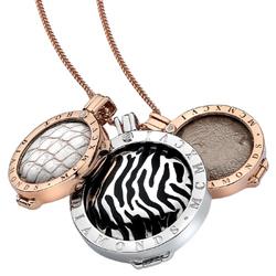 Obrázek č. 5 k produktu: Přívěsek Hot Diamonds Emozioni Faux Crocodile White Coin