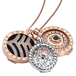 Obrázek è. 6 k produktu: Pøívìsek Hot Diamonds Emozioni Roman Rose Gold Coin