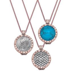 Obrázek č. 2 k produktu: Stříbrný přívěsek Hot Diamonds Emozioni Turquoise Coin