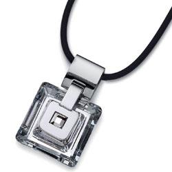 Pøívìsek s krystalem Oliver Weber Square 0632