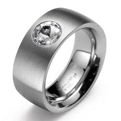 Prsten s krystaly Swarovski Oliver Weber Phrase 0814-001