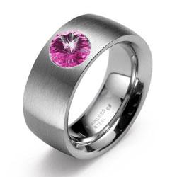 Prsten s krystaly Swarovski Oliver Weber Phrase 68013S-502