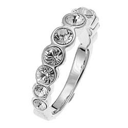 Prsten s krystaly Swarovski Oliver Weber Horizon 41000