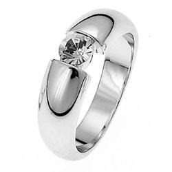 Prsten s krystaly Swarovski Oliver Weber Solitaire 41003