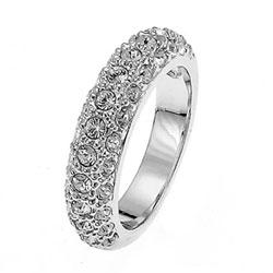 Prsten s krystaly Swarovski Oliver Weber Classic 41006