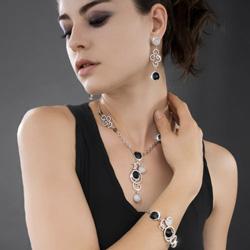 Obrázek č. 1 k produktu: Náhrdelník s krystaly Swarovski Oliver Weber Princess 9079R