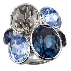 Prsten s krystaly Swarovski Oliver Weber Event 41029-207