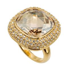 Prsten s krystaly Swarovski Oliver Weber Royal 2425G