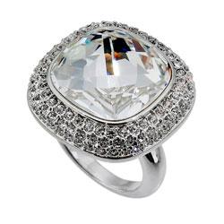 Prsten s krystaly Swarovski Oliver Weber Royal 2425R