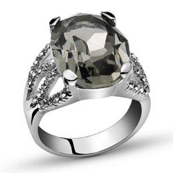 Prsten s krystaly Swarovski Oliver Weber World 2435-215