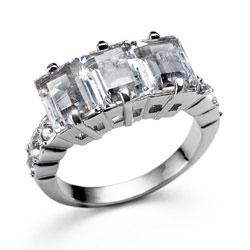 Prsten s krystaly Swarovski Oliver Weber Fidelity 2452